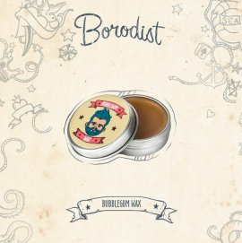 Borodist Bubblegum Wax - Воск для усов (13 гр)