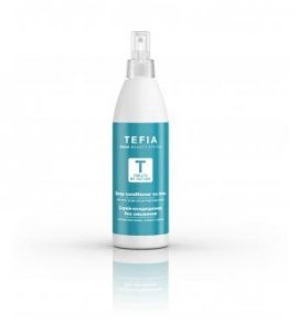 Tefia Spray-Conditioner No Rinse With Myrrh, Ginger And Pomegranate Extract - Спрей-кондиционер без смывания с экстрактами мирры, имбиря и граната (250 мл)