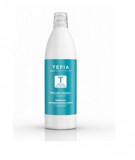 Tefia Treats By Nature Post Color Shampoo With Coconut Oil - Шампу­нь для окрашенных волос с маслом кокоса (1000 мл)
